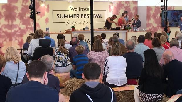 The event featured live cooking demonstrations and interviews with chefs and food producers in three stage areas. The Happy Pear twins (shown) are from Ireland and on a mission to inspire people to live healthier lives and eat more veg and wholefoods.