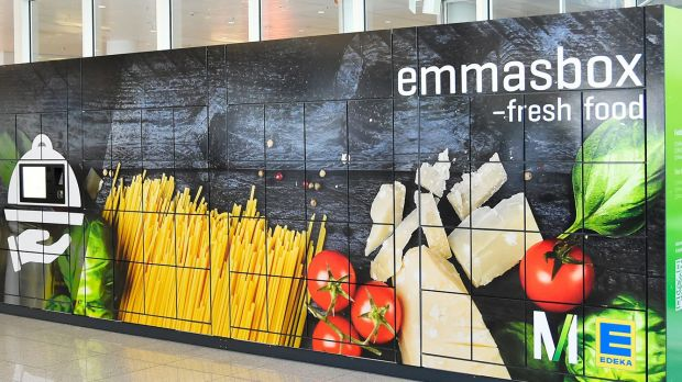 German Edeka already operates refrigerated lockers, provided by Emmasbox, for grocery e-commerce.