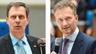 Betonen beim EHI die Chancen von Instant: Von links Ludger Bieberstein  (Rewe), Robert Herzig (Metr