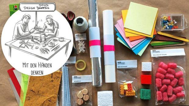 Anleitung zum kreativ sein neulich beim design thinking for Design thinking tisch