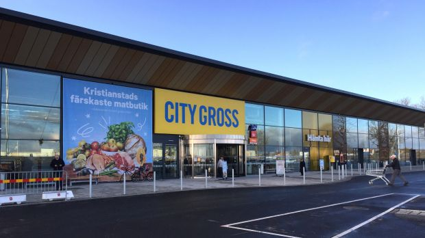 City Gross in Kristianstad Store Front