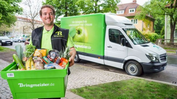 Edeka's Bringmeister is pioneering a new delivery service in Germany.