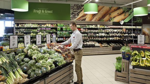 Fruit & Vegetable section at Superbrugsen