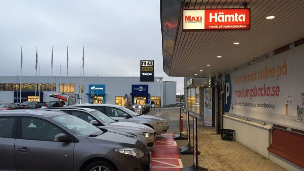 Click & Collect at Ica Maxi in Kungsbacka