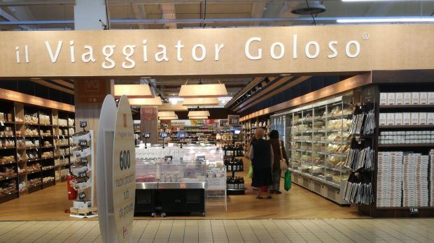 Finiper, the parent company of Unes, has introduced Il Viaggiator Goloso shop-in-shops and dedicated sections in its Iper La Grande I hypermarkets.