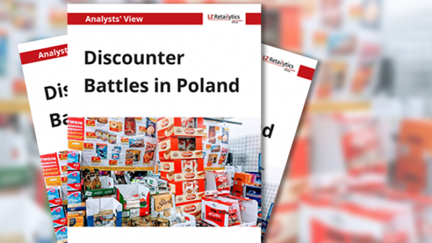 "LZ Retailytics Report ""Discounter Battles in Poland"""