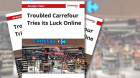 Troubled Carrefour Tries its Luck Online