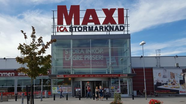 Maxi Ica Stormarknad delivered the highest like-for-like growth of all Ica's banners in 2017.