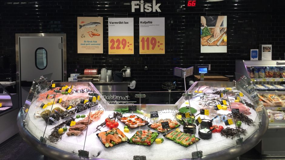 The retailer prepares fish in the store and this is getting increasingly popular amongst its shoppers, Bengtsson revealed.