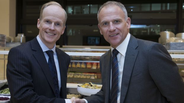 The combined business is expected to start operating on 5 March 2018. Charles Wilson (pictured left) will transition from CEO of Booker to lead Tesco's UK and Ireland operations.
