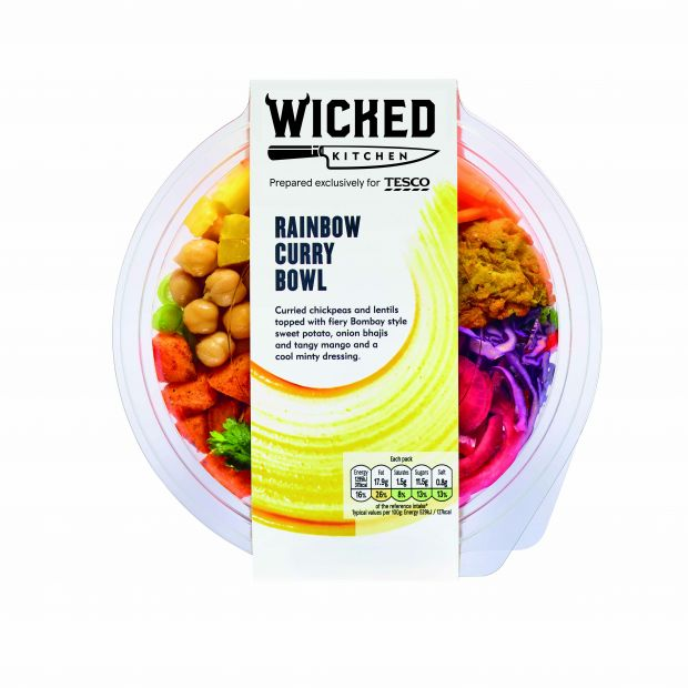 Tesco Launches Plant-Based Private Label Range