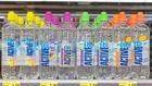 Künftig optisch näher an der Dachmarke:  Die PET-Sportflasche von Active O2 mit einem Dutzend Sor