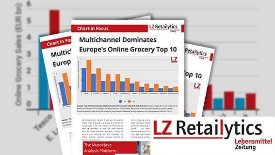 Multichannel Dominates Europe's Online Grocery Top 10