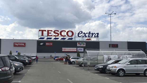 Eine Tesco-Filiale in Polen