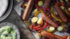 """100 Prozent vegan:  Die """"Incredible Wurst"""" besteht aus einer Soja- und Weizenbasis."""
