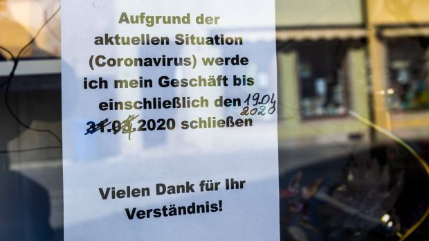 Most shops in Germany are still closed.
