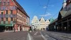 Einkaufsstraße in Augsburg