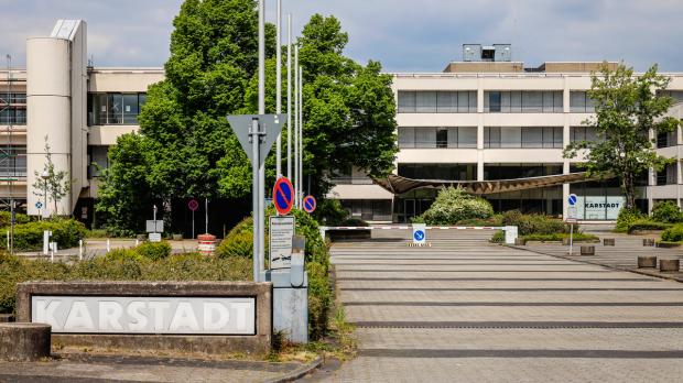 Die Karstadt-Zentrale in Essen