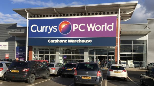"Dixons Carphone verkauft über ""Shop in Shops"" in 305 Currys-PC-World-Läden."