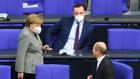 Merkel, Spahn, Scholz (imago)