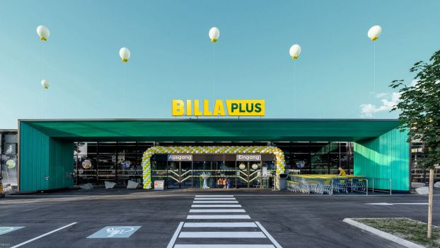 Rewe International macht Merkur zu Billa Plus.