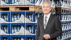 Zufrieden:  Adelholzener-Chef Stefan Hoechter freut sich über ein leichtes Plus auf einem rücklä