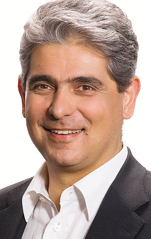 Ramin Khabirpour, General Manager Fresh Dairy Products Central Europe bei Danone