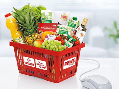 Rewe: Rewe bringt Lebensmittel