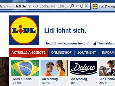 Webshop Lidl Baut Den Online Shop Aus