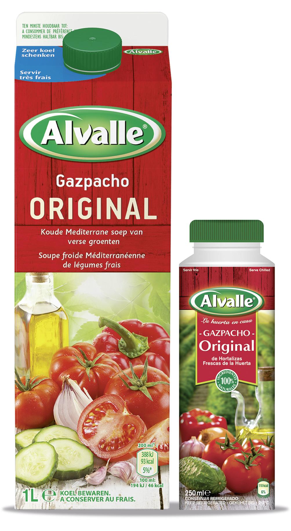alvalle gazpacho original die erste k hlpflichtige gazpacho in deutschland. Black Bedroom Furniture Sets. Home Design Ideas