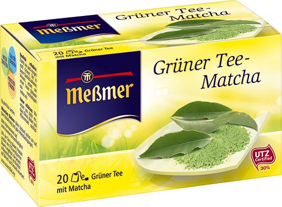 GrГјner Tee Matcha MeГџmer