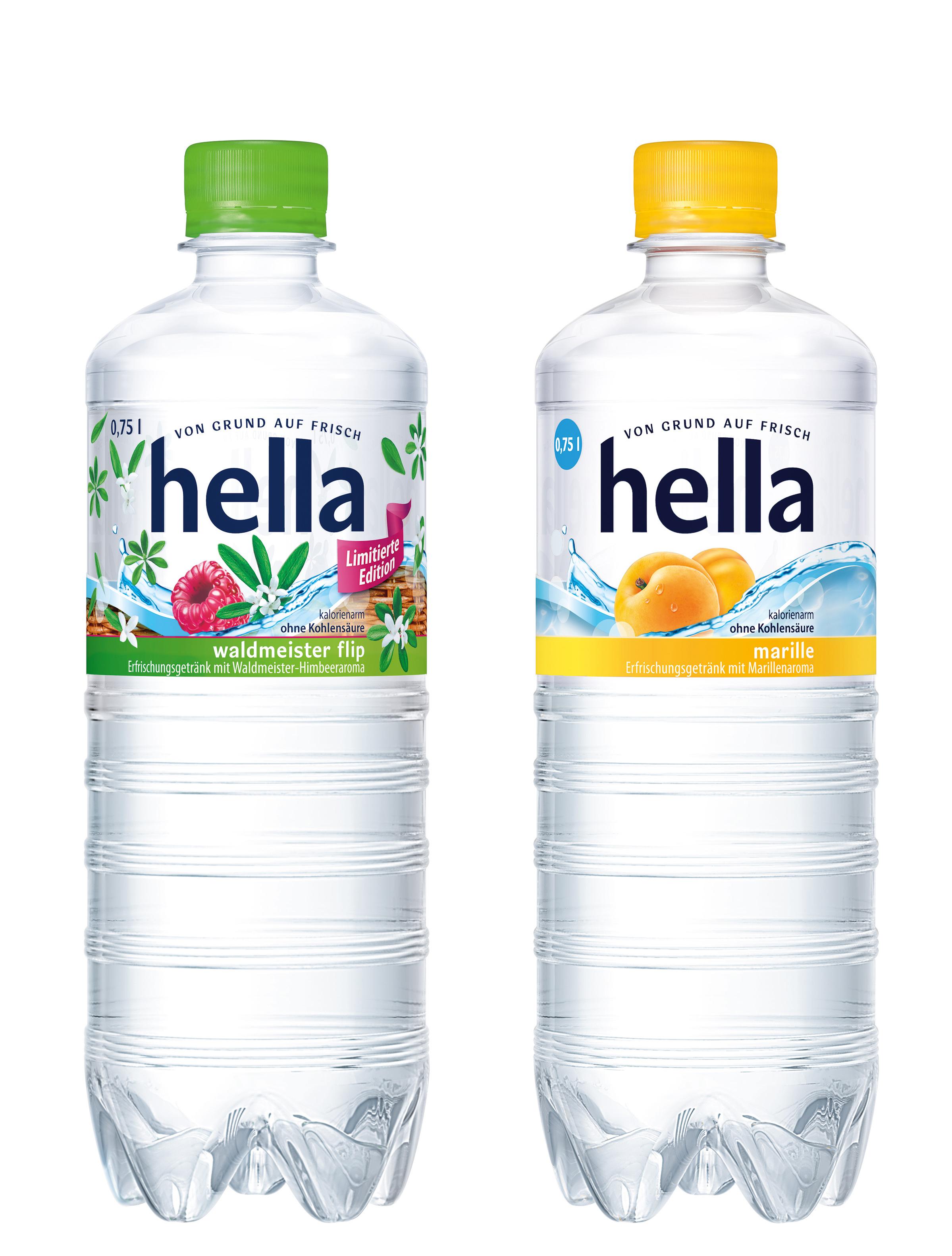 Hella: Waldmeister Flip und Marille