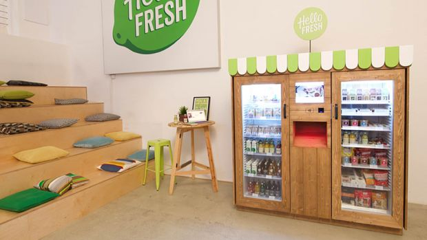 Der Hellofresh-Automat